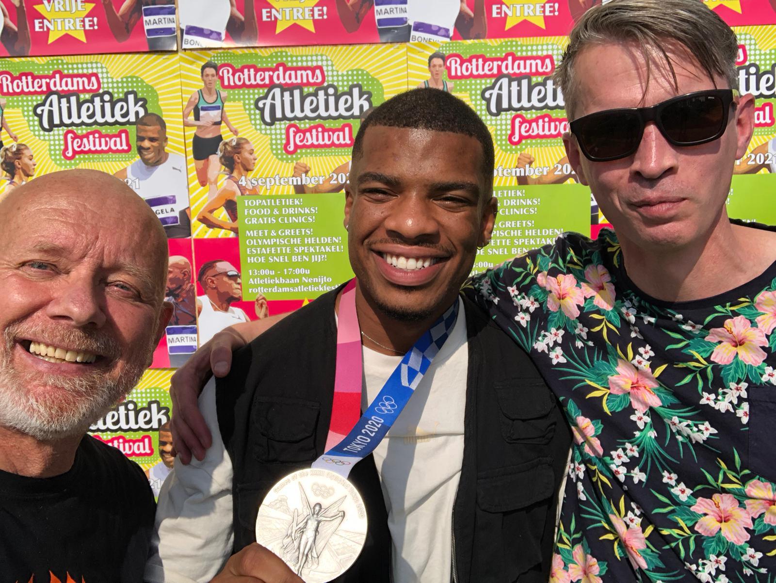 Ramsey met PAC bestuurders Martin en Jorrit