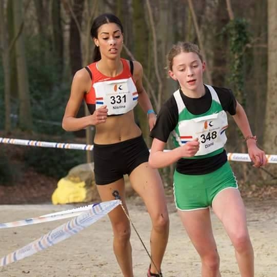 Diane van Es NK Cross 2015
